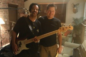 Jon G and I on Dave Gibbs session